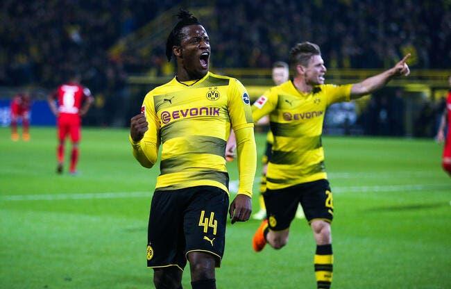 All : Michy Batshuayi était épaté par l'OM, il est effaré par Dortmund