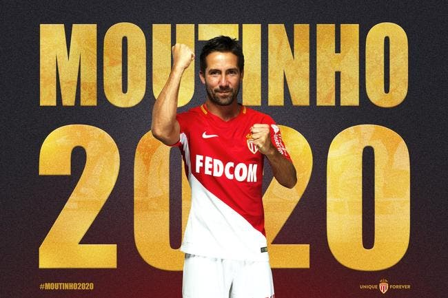 Officiel : L'AS Monaco prolonge Joao Moutinho