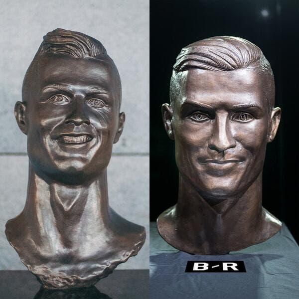 Cristiano Ronaldo complètement refait, ça a de la gueule
