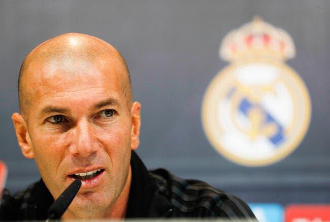 Esp: Viré du Real Madrid, Zidane ne serait pas surpris