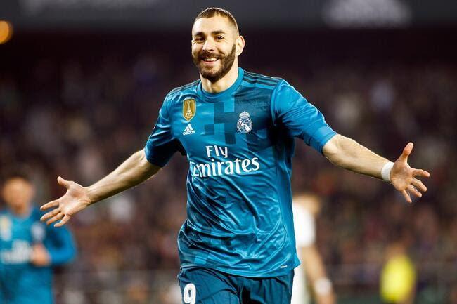 Liga : Benzema fête son 400e match sous le maillot du Real Madrid