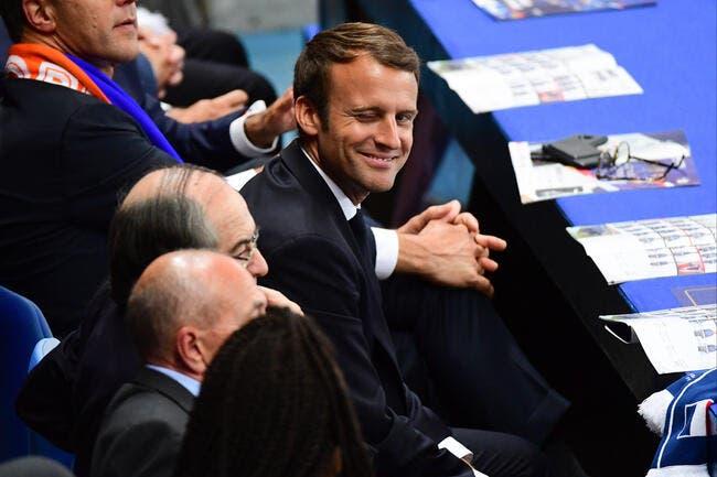EL : Macron en marche vers Lyon pour soutenir l'OM?
