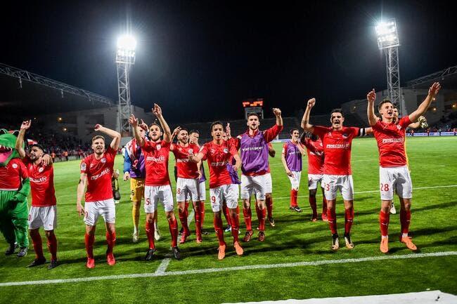 L2: Nîmes peut faire la fiesta, les Crocos joueront en L1