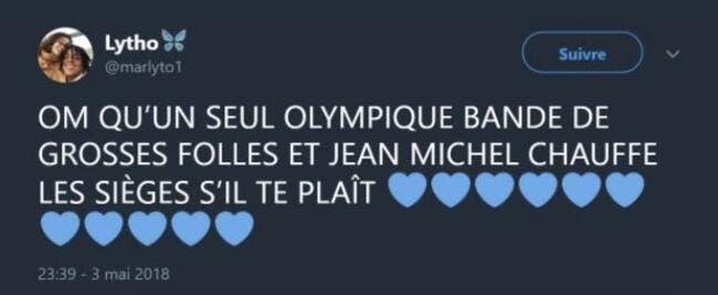 OL : Un U19 de Lyon craque pour l'OM sur Twitter, il se fait virer !