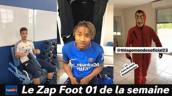 Neymar est là, Bouna Sarr blagueur et un bizutage XXL à Lyon