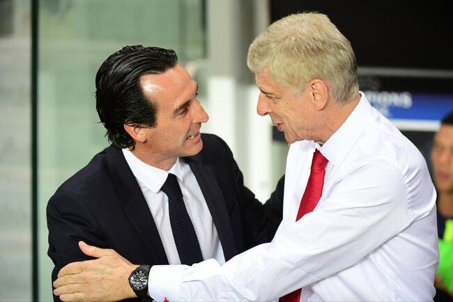 PSG : Unai Emery favori pour remplacer Wenger à Arsenal !