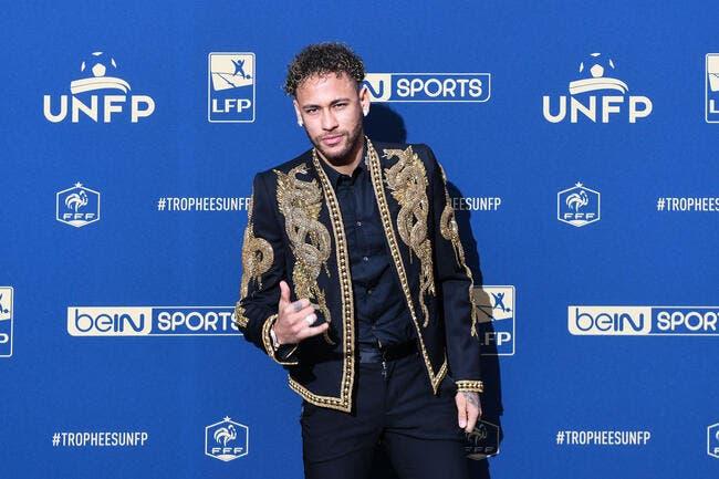 UNFP : Neymar désigné meilleur joueur de la saison en L1 !
