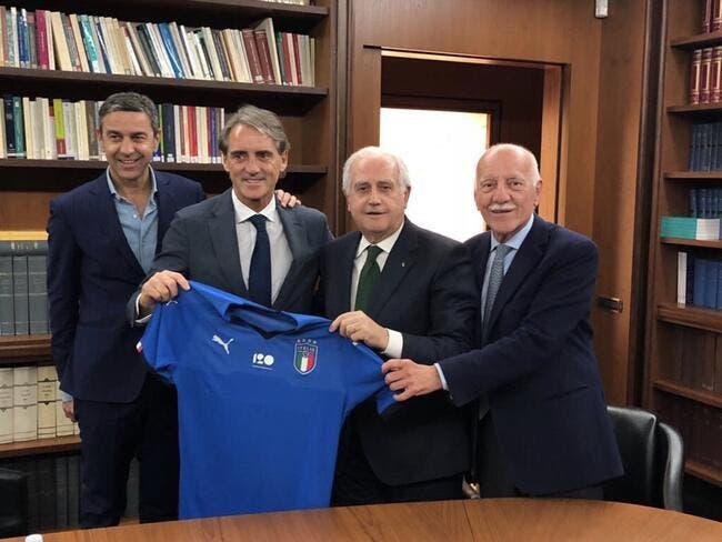 Officiel : Roberto Mancini nommé sélectionneur de l'Italie