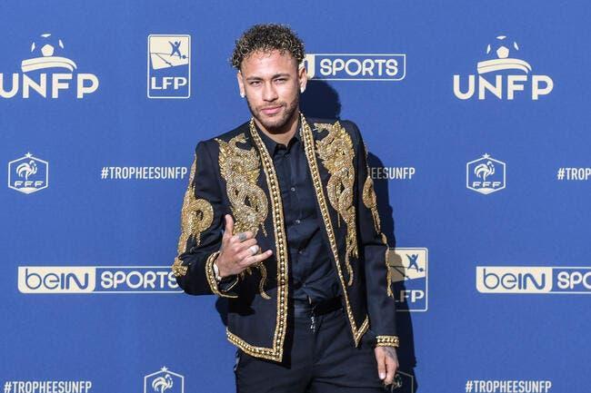 Neymar commence à s'agacer :