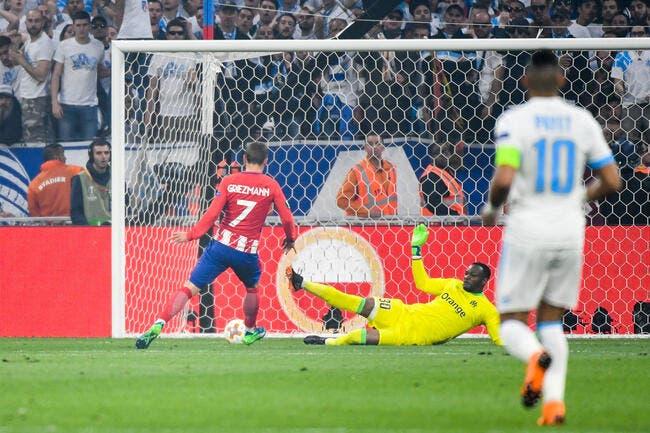 EL : L'Atlético Madrid et Griezmann trop efficaces pour l'OM !