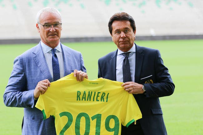 Nantes : Kita officialise le départ de Ranieri