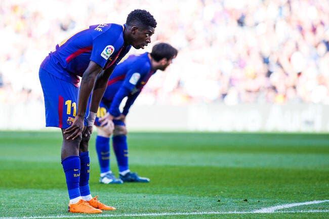 Mercato: Dembélé ne va pas aimer le sale coup du Barça