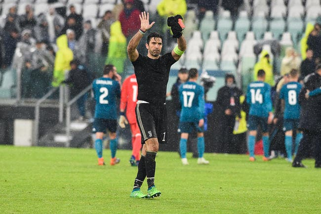 Gianluigi Buffon quitte la Juventus Turin — Italie