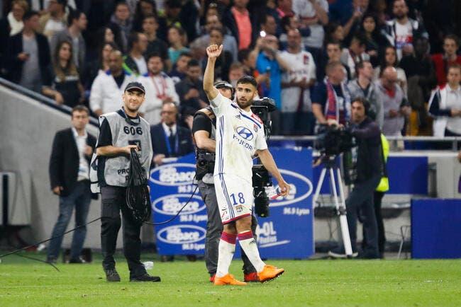 OL : « J'ai tout donné à Lyon », Fekir fait ses adieux