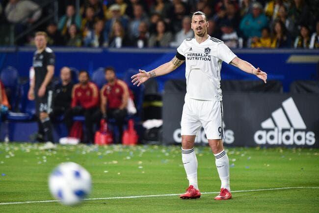 Vidéo: Ibrahimovic perd ses nerfs et prend un rouge en MLS
