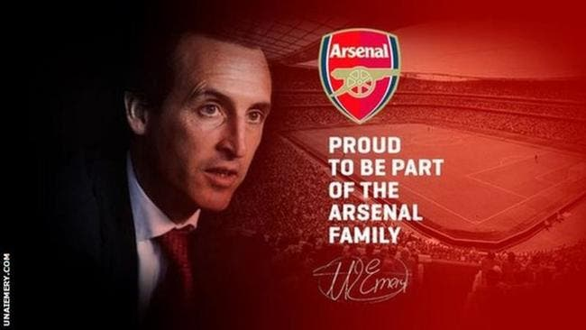 Ang  : Unai Emery officialise sa signature à Arsenal par erreur