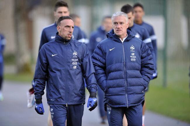 EdF : Ribéry est mort de rire, il propose de remplacer Rabiot !