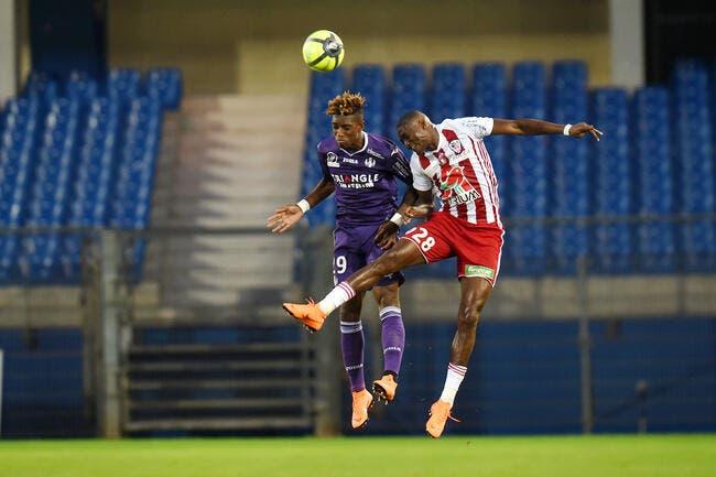 L1 : Toulouse écrase Ajaccio et assure presque son maintien
