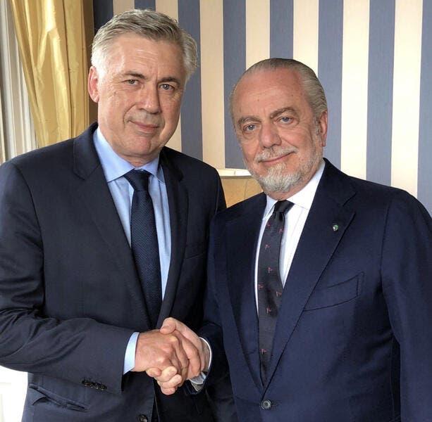 Officiel : Carlo Ancelotti signe trois ans avec Naples