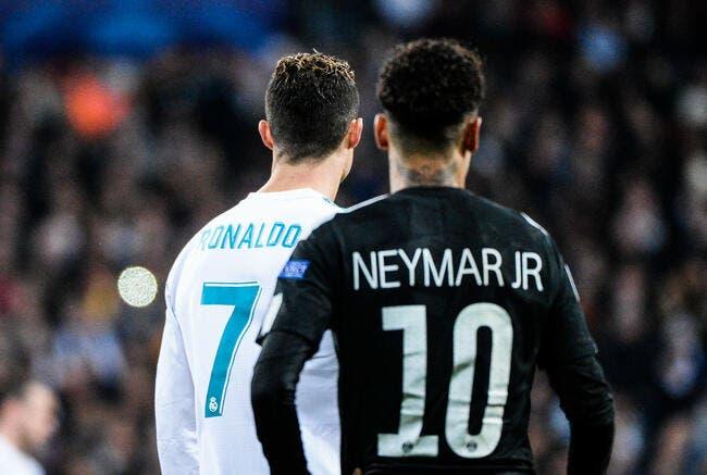 PSG : Neymar se prend un énorme tacle signé Cristiano Ronaldo