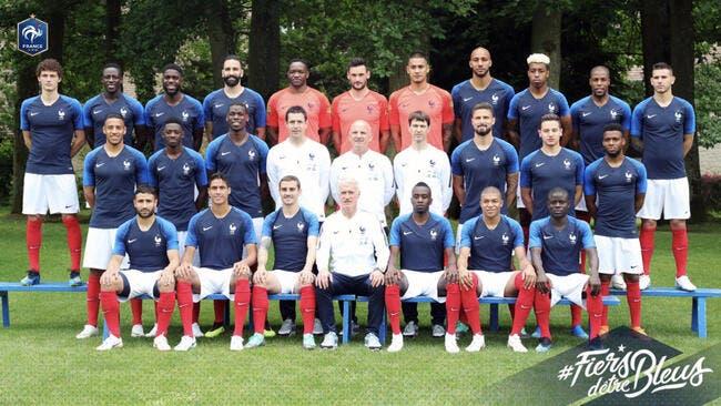 Mondial 2018 : La photo officielle de l'équipe de France dévoilée