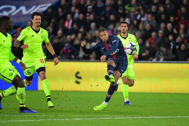 L1 : Mbappé et Neymar soulagent le PSG contre Lille