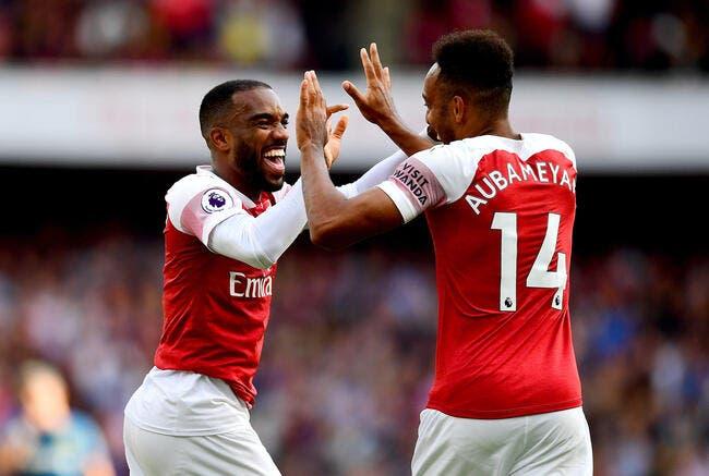 Ang: Du flop au «top player», comment Lacazette a conquis Arsenal