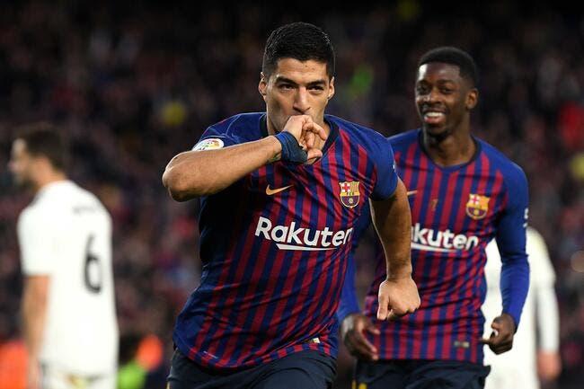 Liga : Le Barça remercie Suarez et Dembélé