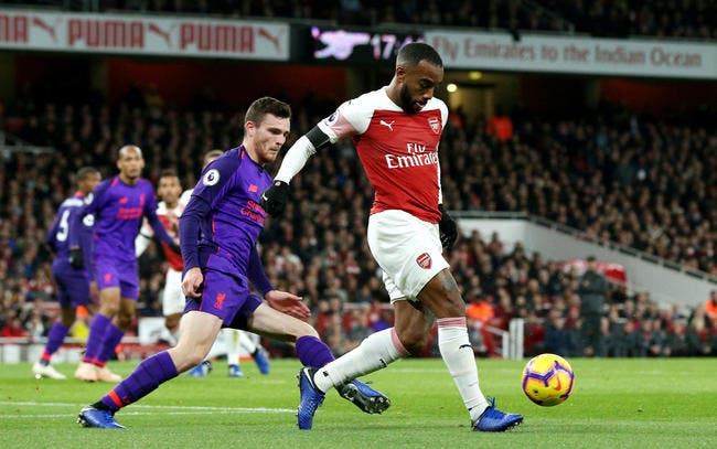 PL : Lacazette sauve Arsenal face à Liverpool