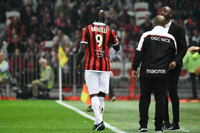 Nice : Vieira n'a pas aimé, Balotelli et Saint-Maximin vont se faire recadrer