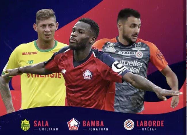 L1 : Sala, Bamba, Laborde, qui sera le joueur UNFP du mois d'octobre ?