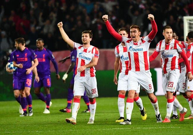 LdC : Sensation, Liverpool perd à Belgrade !