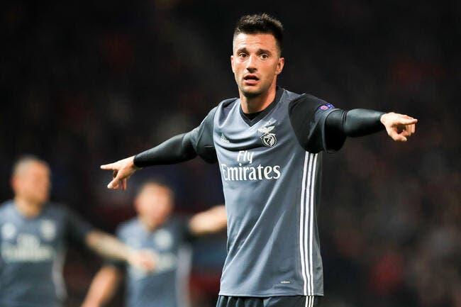 OL : L'OL fonce sur cet indésirable du Benfica au mercato !