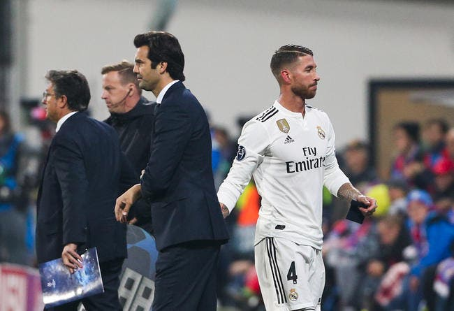 Esp: Sergio Ramos a encore frappé, c'était involontaire bien sûr…