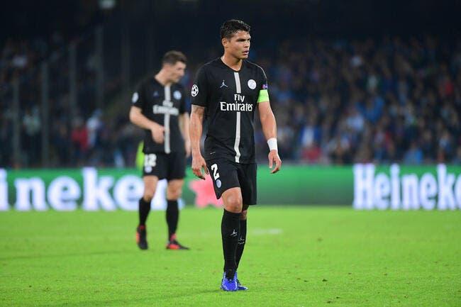 PSG: Six bons mois et une erreur, Thiago Silva prend cher