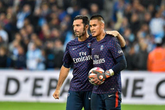 PSG: Fini de jouer, Buffon veut mettre Areola sur la touche