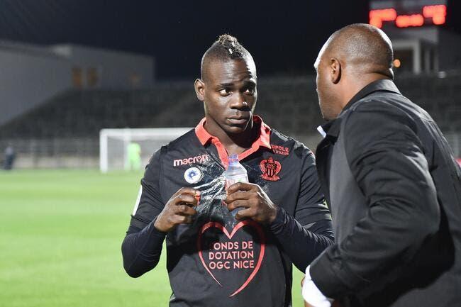 OGCN : Trop c'est trop, Vieira ne ménage plus Balotelli