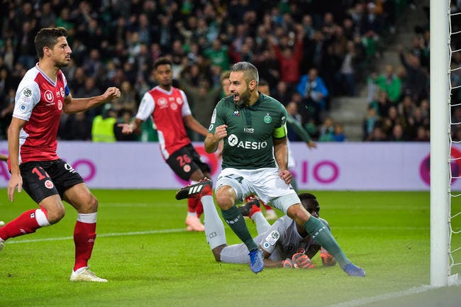 ASSE : Perrin out 5 semaines, il va manquer le derby !