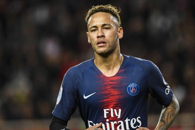 PSG: Neymar a bien fêté la victoire du PSG à Monaco