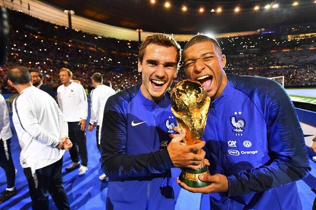 Ballon d'Or : Griezmann est une star française, Mbappé une star mondiale !