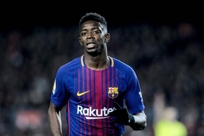 Esp: Le Barça a découvert le mensonge et l'addiction de Dembélé