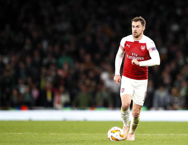PSG : Aaron Ramsey la solution miracle pour le mercato de Paris !