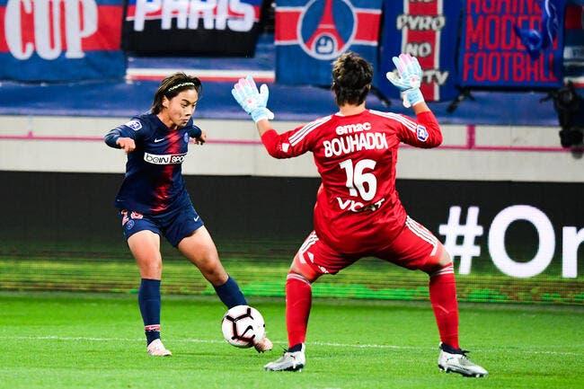 D1 féminine : Le PSG et l'OL se quittent bons amis