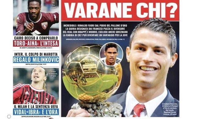 Ballon d'Or : Cristiano Ronaldo viré du podium, Griezmann couronné ?