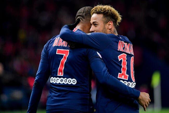 PSG : Elongation des adducteurs pour Neymar, contusion pour Mbappé !