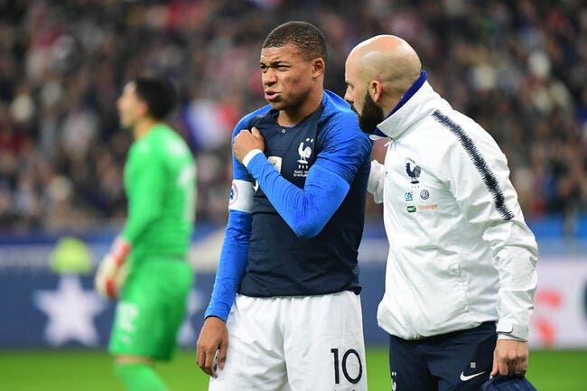 PSG : La réaction foudroyante de Paris après la blessure de Mbappé !