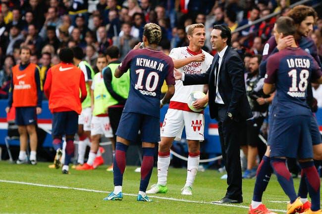 Emery évoque ses adieux au PSG et à Neymar