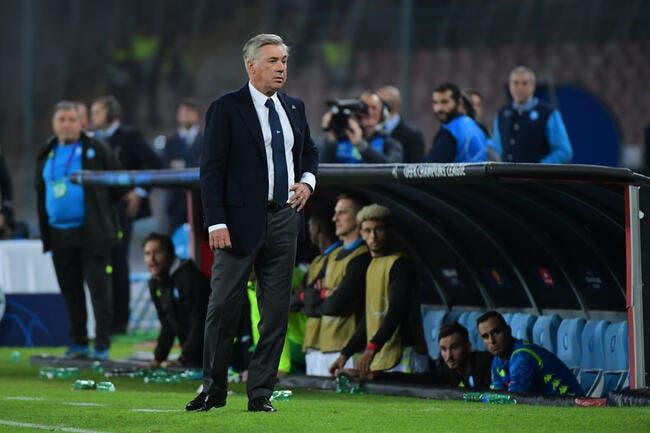 PSG: Cavani à Naples, la petite phrase d'Ancelotti