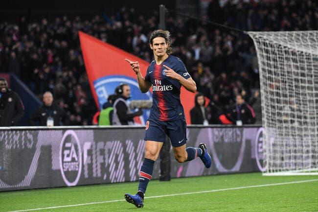 Sans Neymar ni Mbappé, le PSG remercie Cavani