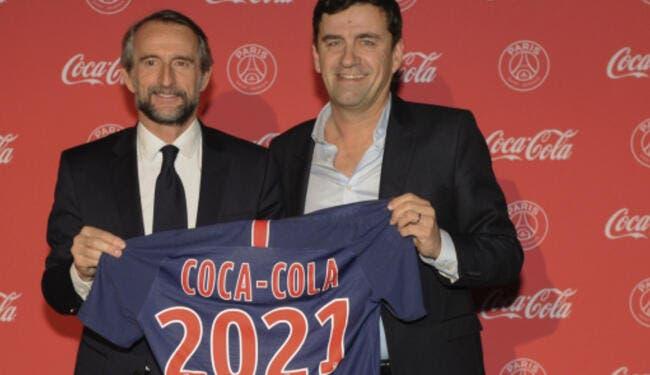PSG : Un petit Coca, un petit million d'euros, le PSG savoure